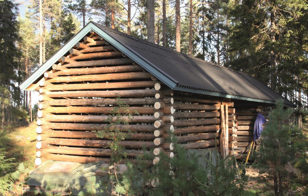 casetta in legno con Onduline in copertura