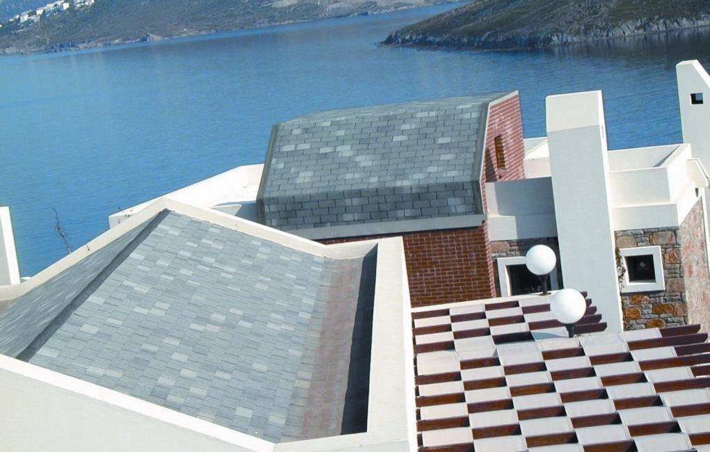Edifici residenziali - ristrutturazione tetti con Bardoline Classic
