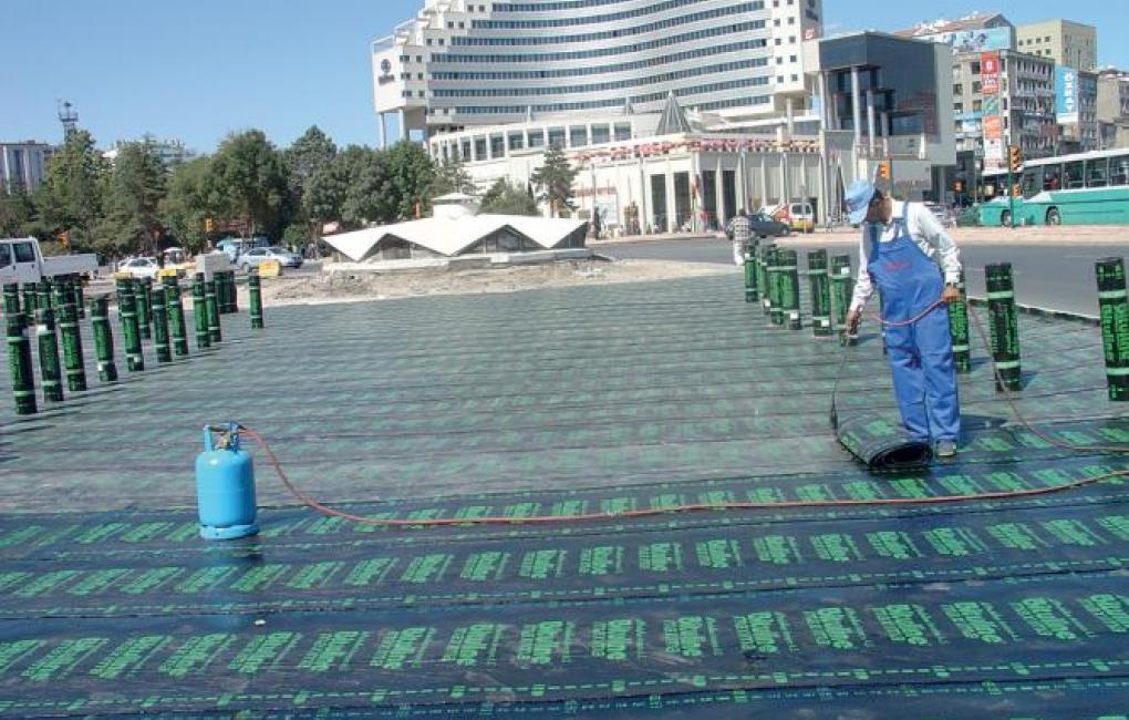 impermeabilizzazione di coperture di strutture alberghiere