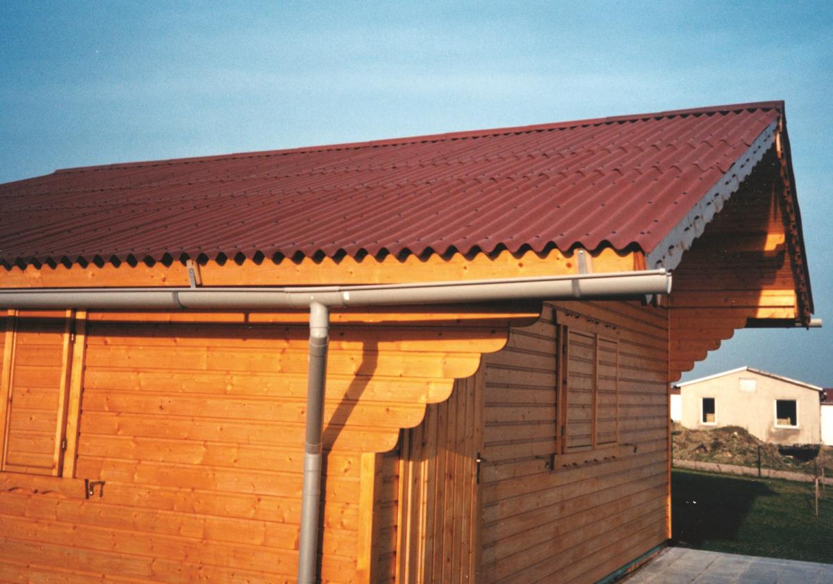 Onduline Base su bungalow e casette per vacanze