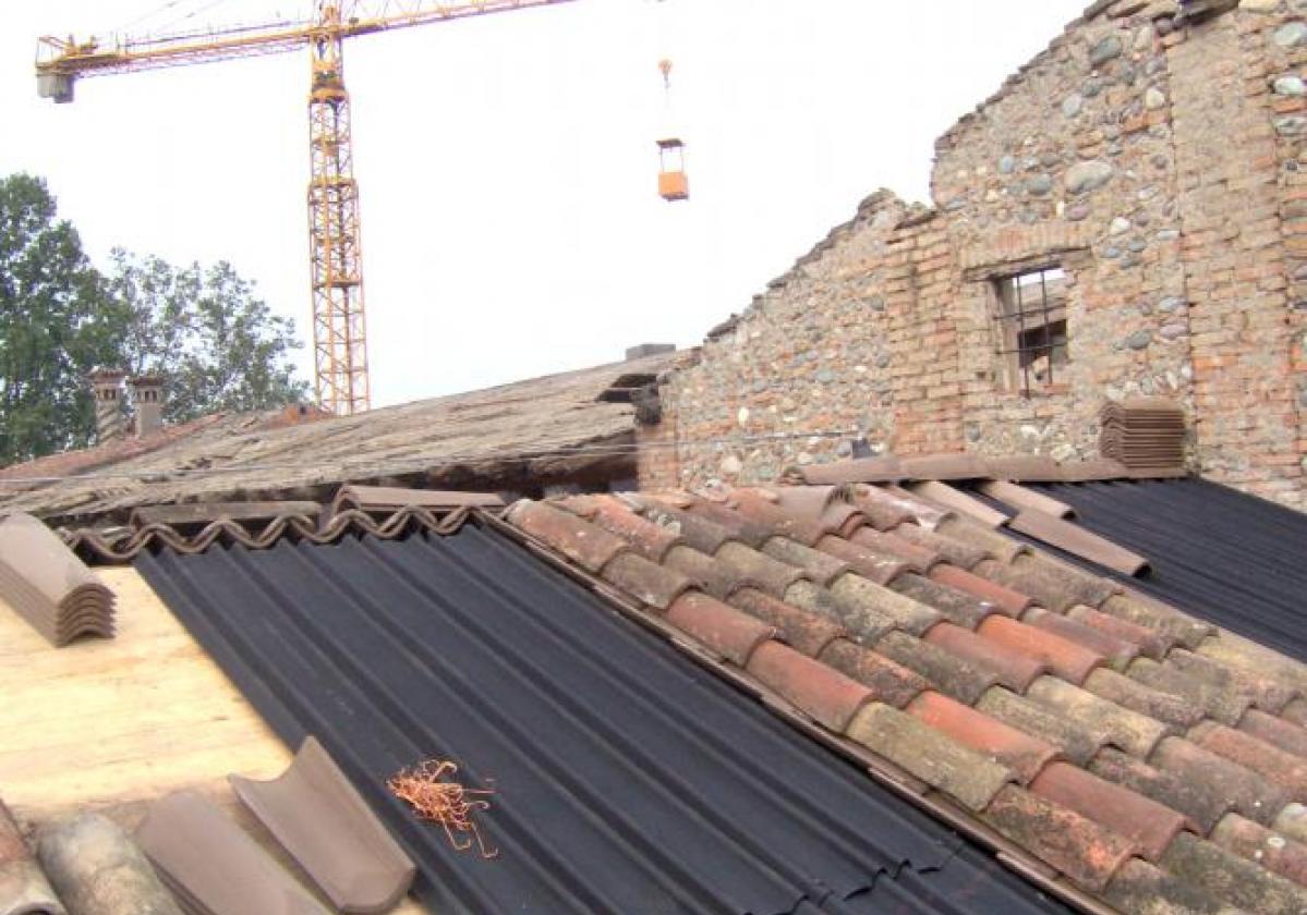 lastre da sottocopertura Onduline per ristrutturazione tetto