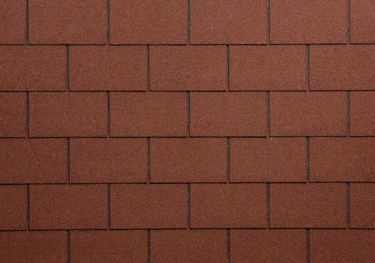 Bardoline Classic rectangular - rosso sfumato