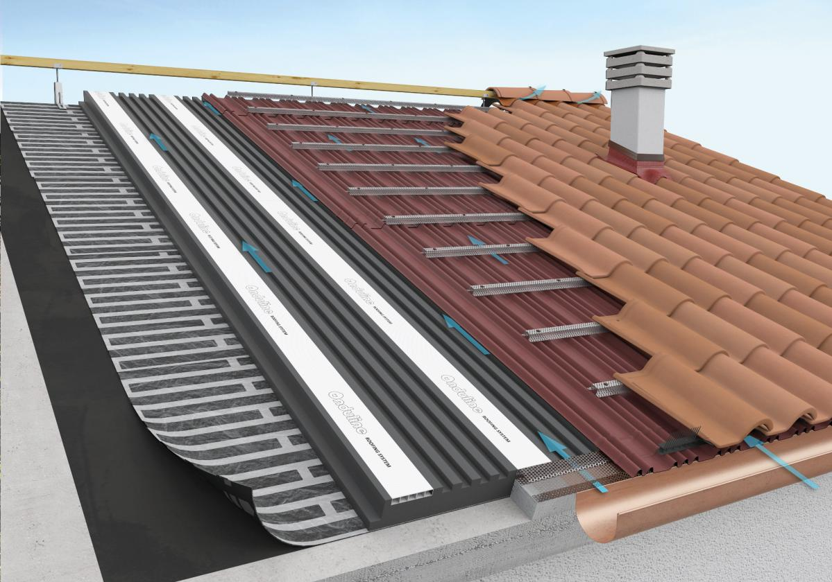 Onduline ROOFING SYSTEM PRO G RS - copertura in tegole