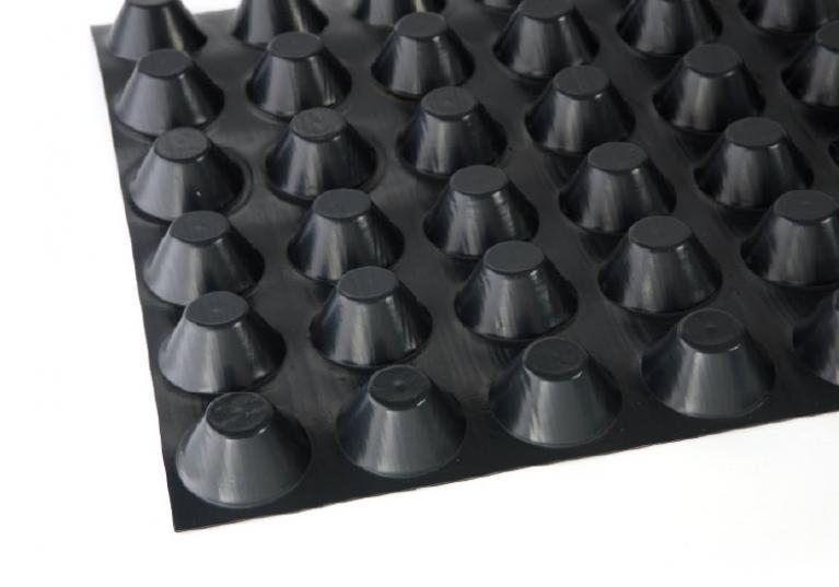 Fondaline 1000 membrana bugnata per drenaggio delle fondazioni