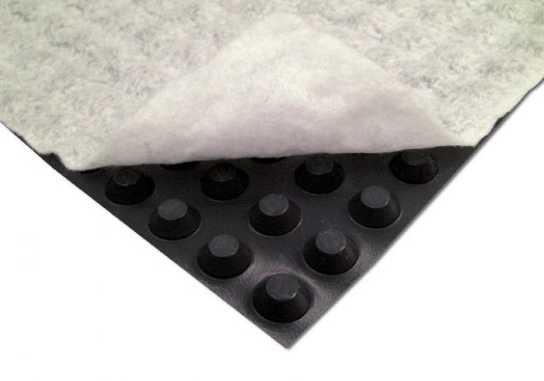 Fondaline Geo con strato di geotessile in TNT filtrante
