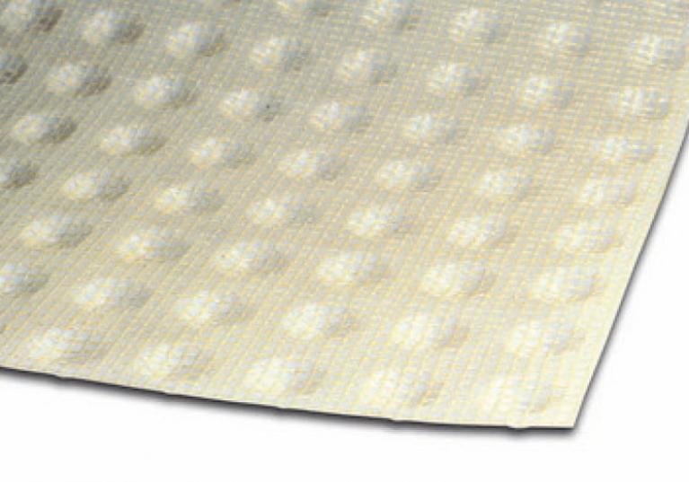 Dettaglio di FONDALINE PLASTER con rete portaintonaco