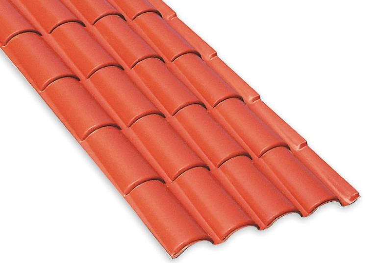 Onduplast Provenza color terracotta