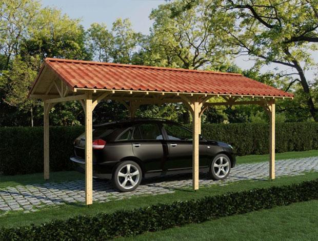 Coperture per tettoie e carport con le soluzioni Onduline
